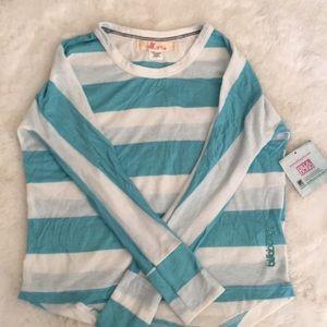 New Billabong girls long sleeve shirt size 6